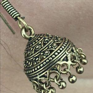 Oxidized zhumkas (earrings)